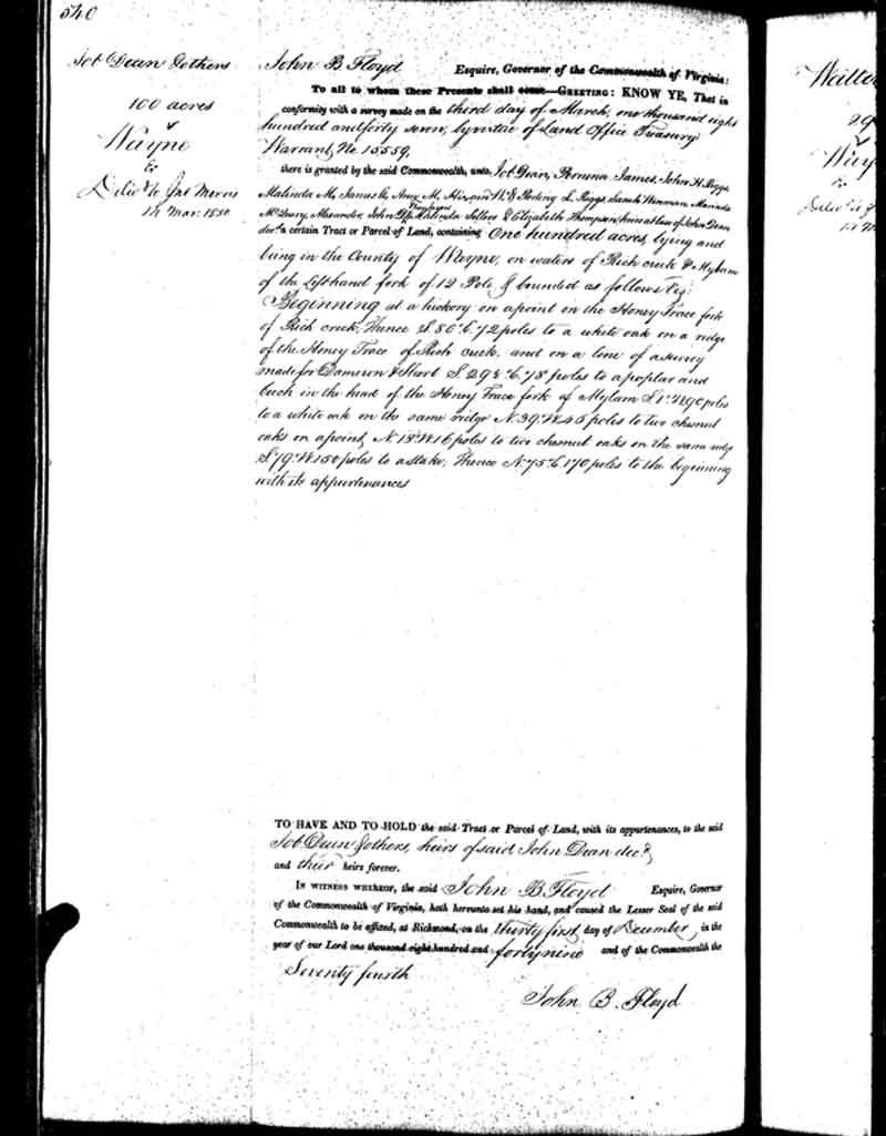 John-Dean-land-1847-heirs